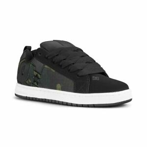DC Men's Court Graffik SE Grey / White Skate Shoes Trainers UK 8.5 EU 42.5