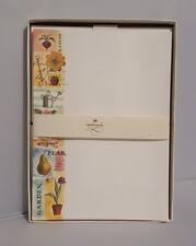 Halmark Vintage Stationary Garden Theme 29 Sheets And 12 Envelops