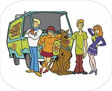 SCOOBY DOO shaggy and mystery machine on a computer Mouse Mat unbranded/generic