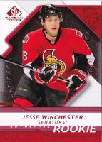 08-09 SP Game Used Jesse Winchester /25 Rookie PLATINUM Senators 2008