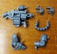 Warhammer 40k Space Marine Deathwatch Bits: Hand-Held Frag Cannon Heavy Weapon