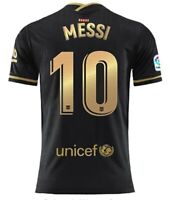 Lionel Messi 2020-2021 Away Soccer Jersey