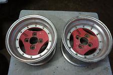 "2pc pieces ONLY JDM Advan A3A 13"" rims wheels datsun ssr rays volk work"