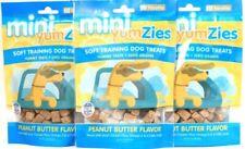 3 Bags Nootie 5 Oz Mini YumZies Peanut Butter Flavor Soft Training Dog Treats