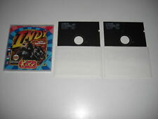 "INDIANA JONES & and The Last Crusade Pc 5.25"" Floppy Disks - Rare KIXX Cased"