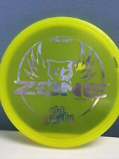 Discraft $Zone Get Freaky Crystal Flx Yellow Money Stamp 173–174g🔥 $