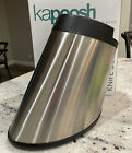 Kapoosh Rondelle Slotless Knife Block, Stainless Steel