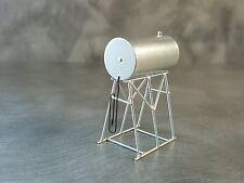 1/64 Custom scratch Farm silver fuel Barrel on stand