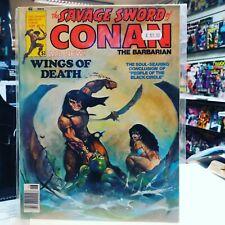 The Savage Sword of Conan Magazine #19 (1977) - Kenneth Morris Cover Art