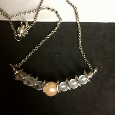 Timless Choker Necklace With Crystal Quartz And Pearl
