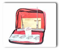 Made in the U.S.A Red Box Safety SealTire Repair String Truck Kit