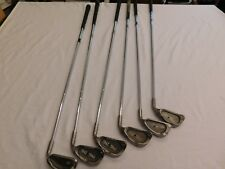 Mixed Ping Zing Iron Set 3,4,5,7,8,W Blue Black Dot Ist With Kt-M Shaft