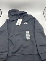 Nike Youth Boys Sweatshirt Hoodie Black BV3757 011 Size Medium New with Tags