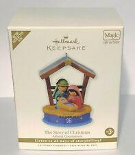 2010 Hallmark Keepsake The Story Of Christmas Advent Countdown