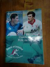 GAA 1995 All Ireland SFC final Dublin v Tyrone official match programme