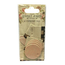 Dovecraft Sweet Paris Mini Tags  for cards and crafts