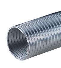 "3"" / 75mm Aluminium Flexible Pipe Alloy Air Ducting Tube Heat Resistant Hose"
