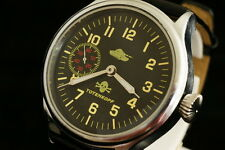 Vintage military style German & CCCP WAR2 watch Totenkopf TANK