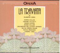 Verdi: La Traviata / Rad ,Callas, Valletti, Zanasi, Collier, Londres 1958 CD