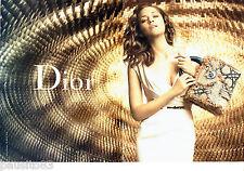PUBLICITE ADVERTISING 096  2012  Dior (2p)  sac à main par Marion Cotillard