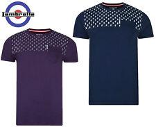 Lambretta Camisetas Camiseta manga corta cuello redondo motivo Cachemira aop