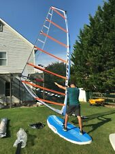 Starboard Start Beginner Windsurfing Sailboard Paddle Board Wide Stable Great!