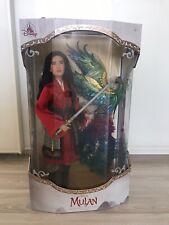 Disney Mulan Doll Limited Edition! Neu! OVP!