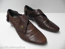 Chaussures de ville KARSTON marron en cuir pour FEMME taille 36 -Modèle d'Expo-