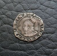Silver 1598-1600 England Great Britain Penny | Elizabeth I | Anchor MM
