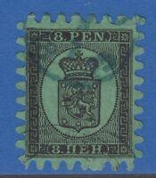 FINLAND 7 8 PEN 1866 VERY FINE !