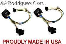 (2) New Headlight Wiring Harness 1999 - 2005 VW MK4 Golf, Cabrio - Genuine OEM