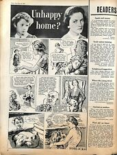 Original Vintage 'Horlicks' Advertisement from Picture Post Magazine May 1956