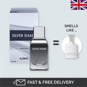 SILVER SHADE by AJMAL Eau De Parfum 100ml similar to Creed Silver mountain water