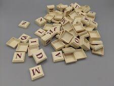 Lot 100 Upwords Tiles Milton Bradley 1983 Replacement Game Parts Crafts COMPLETE