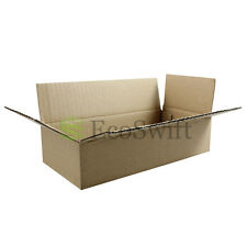 100 8x4x2 Cardboard Packing Mailing Moving Shipping Boxes Corrugated Box Cartons