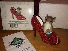 "Charming Tails ""May Your Shoes Bring You Home Again"" Dean Griff Nib 👠"