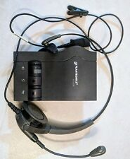 Plantronics Encore Headsets (used), with Vista M12 Amplifier