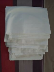# 4 x Double size flat sheets ex hotel.........