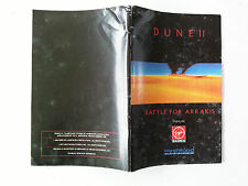Notice/manuel Dune II 2 Battle for Arrakis pour Big box PC FR
