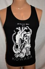 NEW BLACK TANK mens S unisex OCTOPUS medical art KOWASA THE OCTOVASCULAR SYSTEM