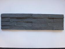 pièces de PATRON env. 15x30cm der pierre naturelle brique murale anthracite