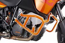 PUIG engine crash bars guards in orange for KTM 1190 Adv