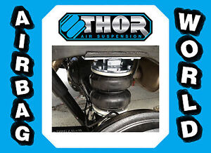 To suit Ford Courier - Thor Airbags/Load Assist Suspension Kit