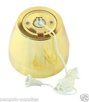 CRABTREE SF2167/PB 50A DP SHOWER PULL SWITCH + NEON POLISHED BRASS *CLEARANCE WS
