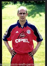 Mario Basler super grandi foto 20x30 cm il Bayern Monaco ORIG. Sign. +38