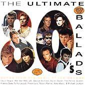 """Ultimate 80's Ballads""- 40 Tracks-U2-Queen-Police-Bowie-Fleetwood Mac-NEW 2CD"
