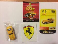 "DIE CAST FERRARI MICRO CARS "" 250 GTO - 1962 "" USCITA N° 9 SCALA 1/100 KYOSHO"