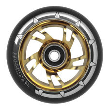 Black & Gold 110mm Swirl Stunt Scooter Wheel Fits MGP Blunt Razor Envy Sacrifice