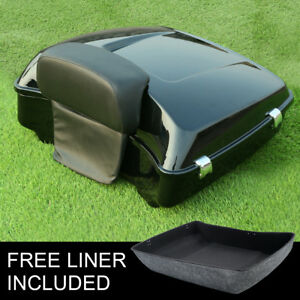 Chopped Pack Trunk Backrest Fit For Harley Tour Pak Touring Model 14-20