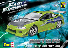Revell 1/25 FAST & FURIOUS Plastic Model Kit 85-4384 854384 Brian's Eclipse